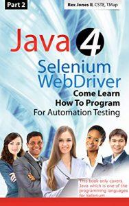 Java 4 Selenium WebDriver-Part 2