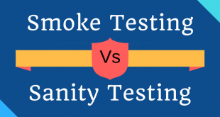Difference Between Smoke And Sanity Testing