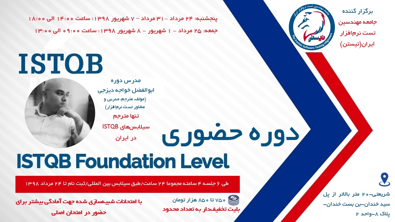 ISTQB Foundation Real Course 4