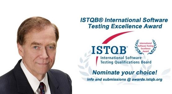 International Software Testing Excellence Award-Richard Bender