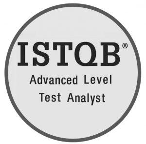ISTQB Advanced Level Test Analyst Roundel